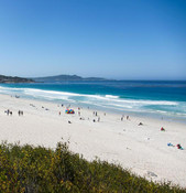 Imagine less than a 15 minute walk from the Carmel Fireplace Inn. Carmel Beach is said to be a place in Paradise!