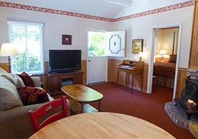 Cottage Style Family Units Carmel Fireplace Inn Bed Breakfast